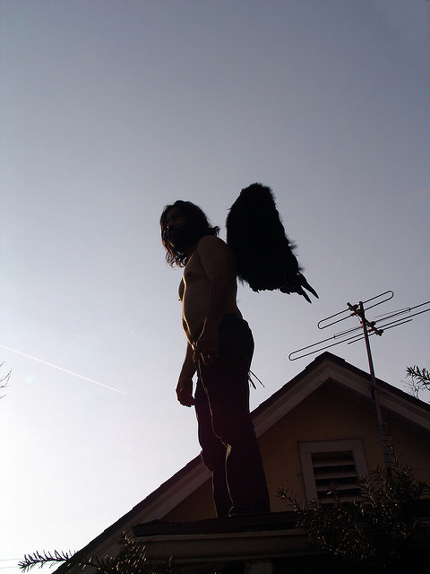 """Angel on My Roof"" 18 March 2008 ~LGHurcomb"