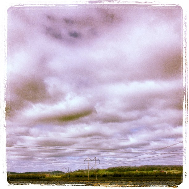 Pink Texas Storm