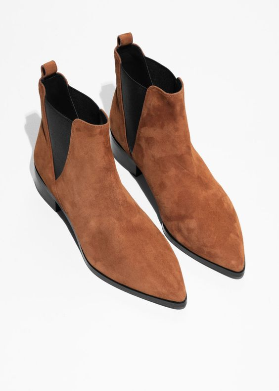 Chelsea Boots - Orange, &Other Stories