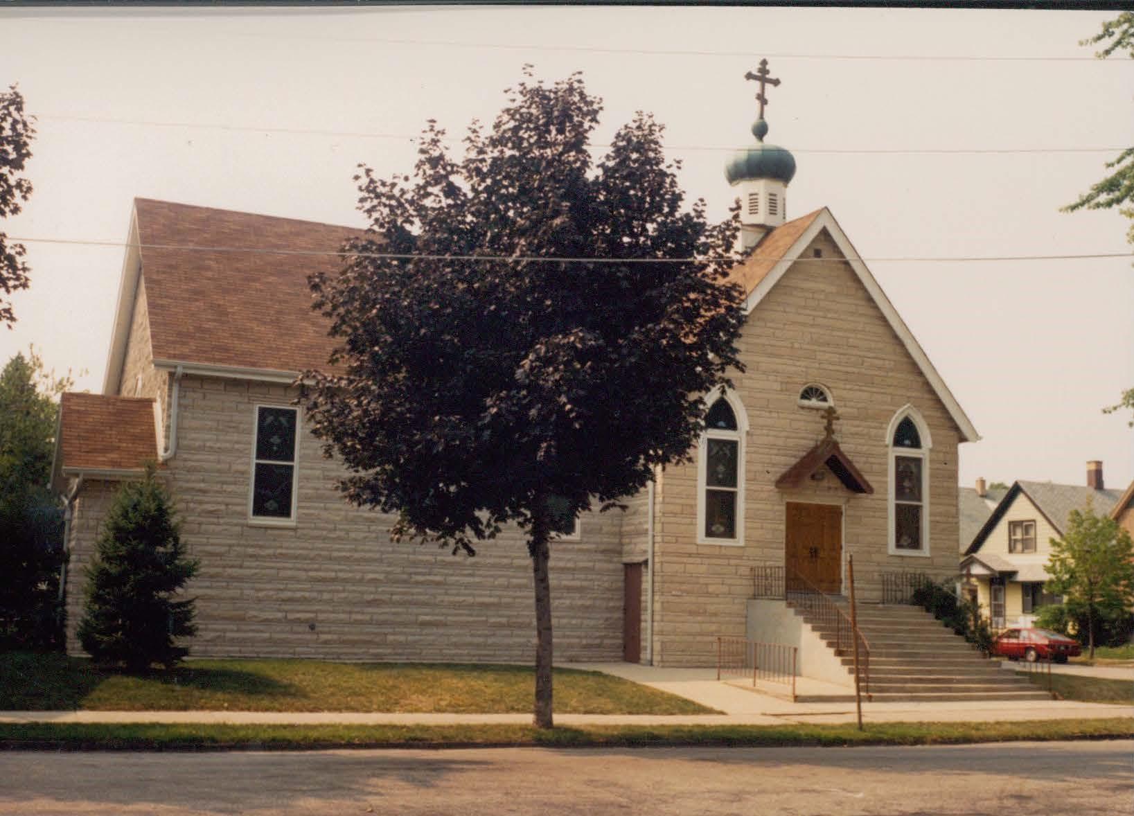 Church renovation in 1985