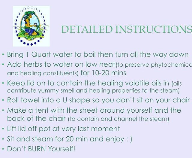 As @lexiiiieeee mentioned, I gave all the Don'ts, so here are the Do's. There are so many wonderful reasons to add steaming to your health self care. Get steaming! And gentlemen you are not left out, you can do penis soaks by making an herbal brew in a similar way then letting it cool, straining it, putting it in a bowl in between the cushions on the couch, lay on your tummy and relax. #selfcareishealthcare #reproductivehealth #ATMAT #uterinebalance #arvigowisdom #herbalsupport #ixchel #donelijiopanti #mayawisdom