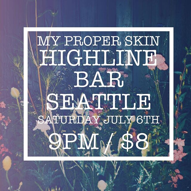 We're so excited to play @highline_bar tomorrow night with @theblackchevys & @juliafrancis.pix ✨  #summernights #seattle #pnwtour #pdxmusic #dreampop #shoegaze #indie #indierock