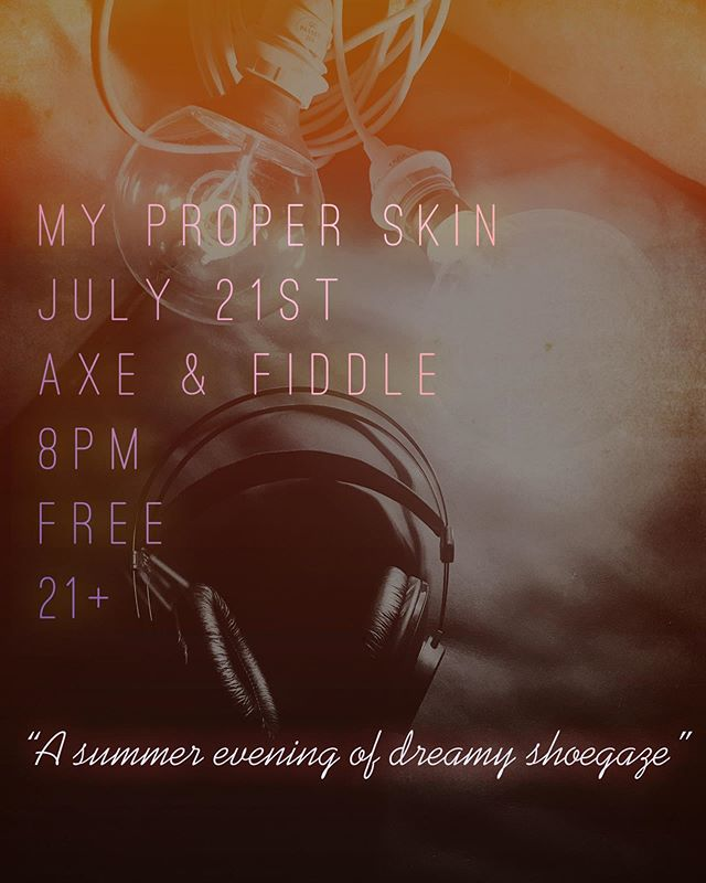 Tonight! Headed to lovely Cottage Grove ✨ #dreampop #shoegaze #livemusic #pnw #indie #indierock