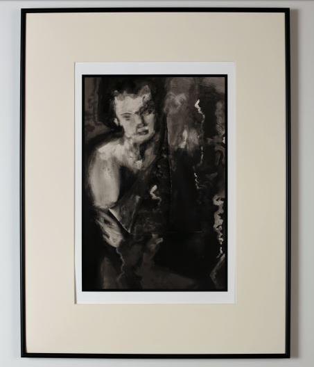 Dvorak, Estabrook, Wolfe,  Black Dahlia , 2018 archival pigment print. Image courtesy of Jan Brandt Gallery.
