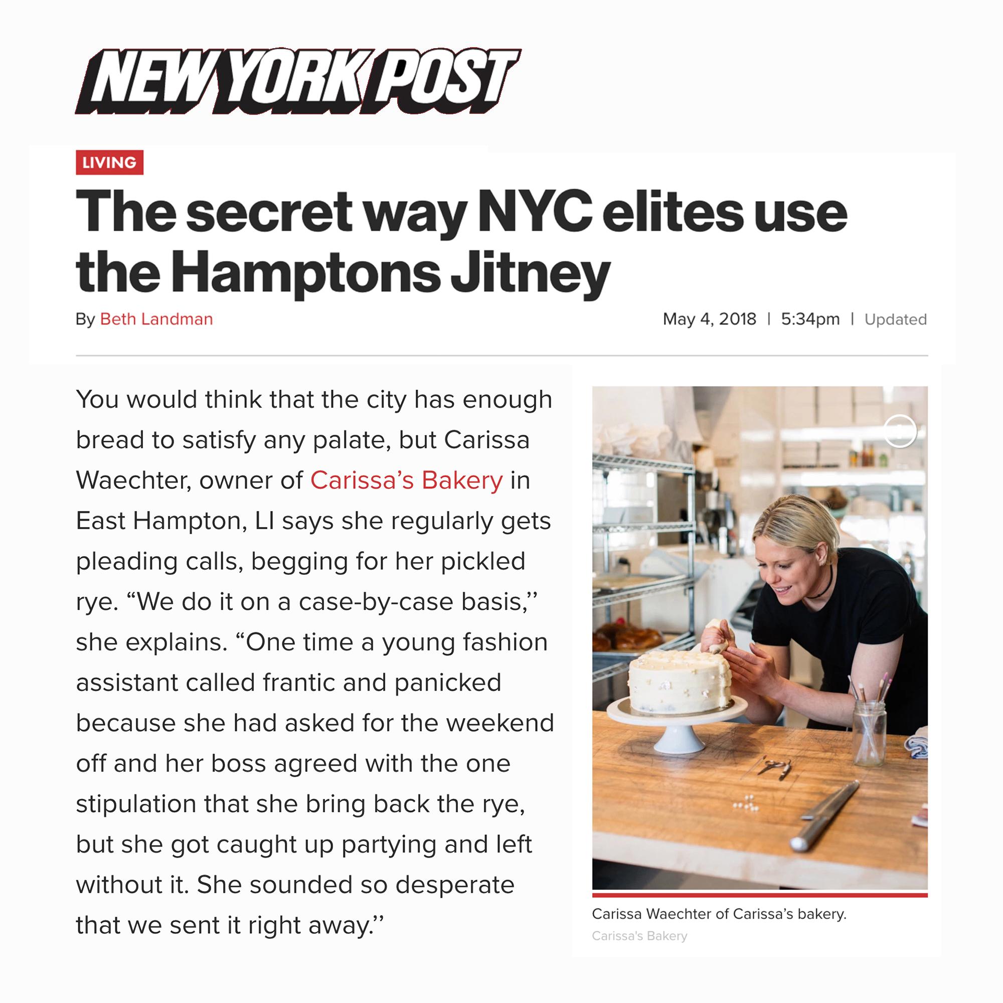 New York Post (May 2018