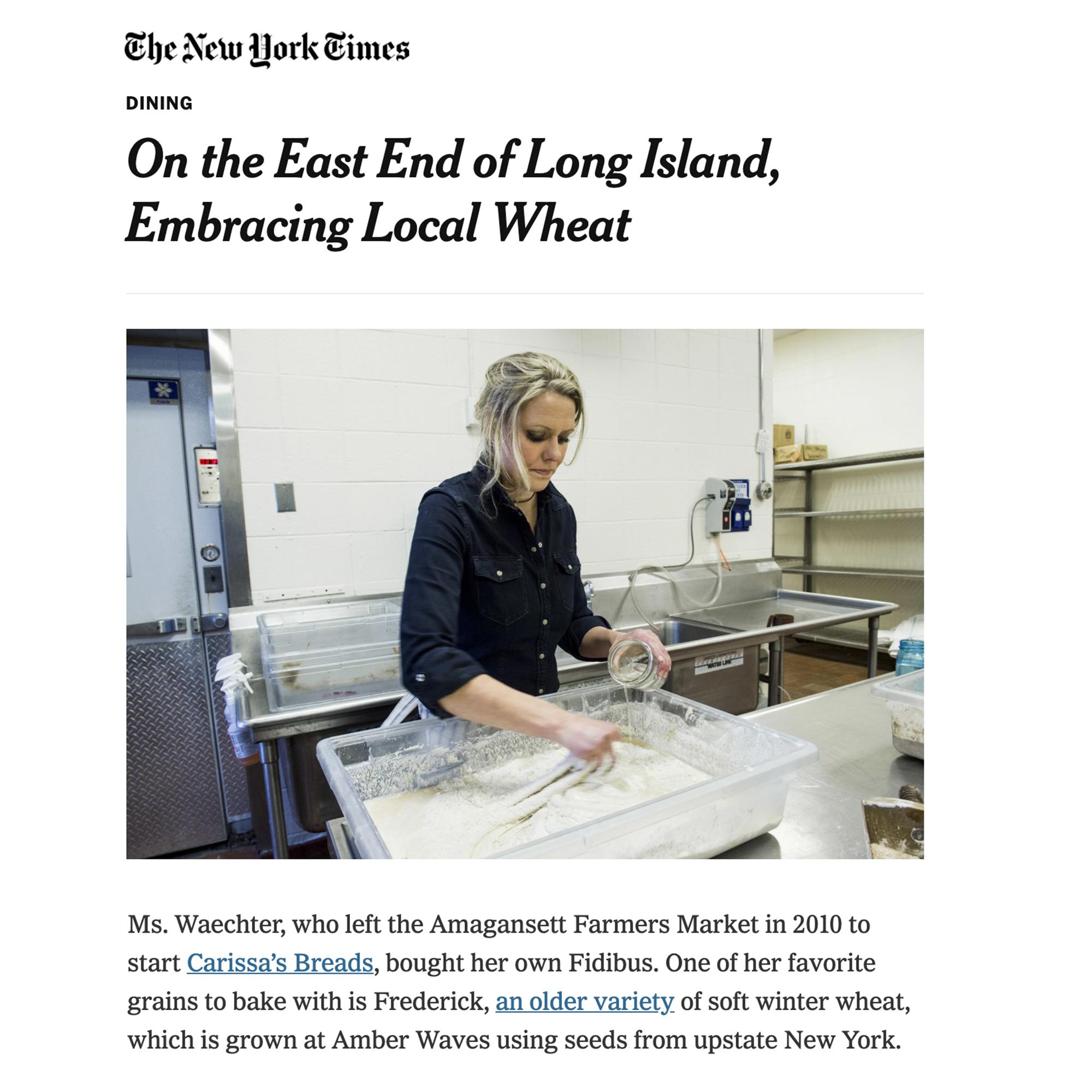 New York Times (January 2015)