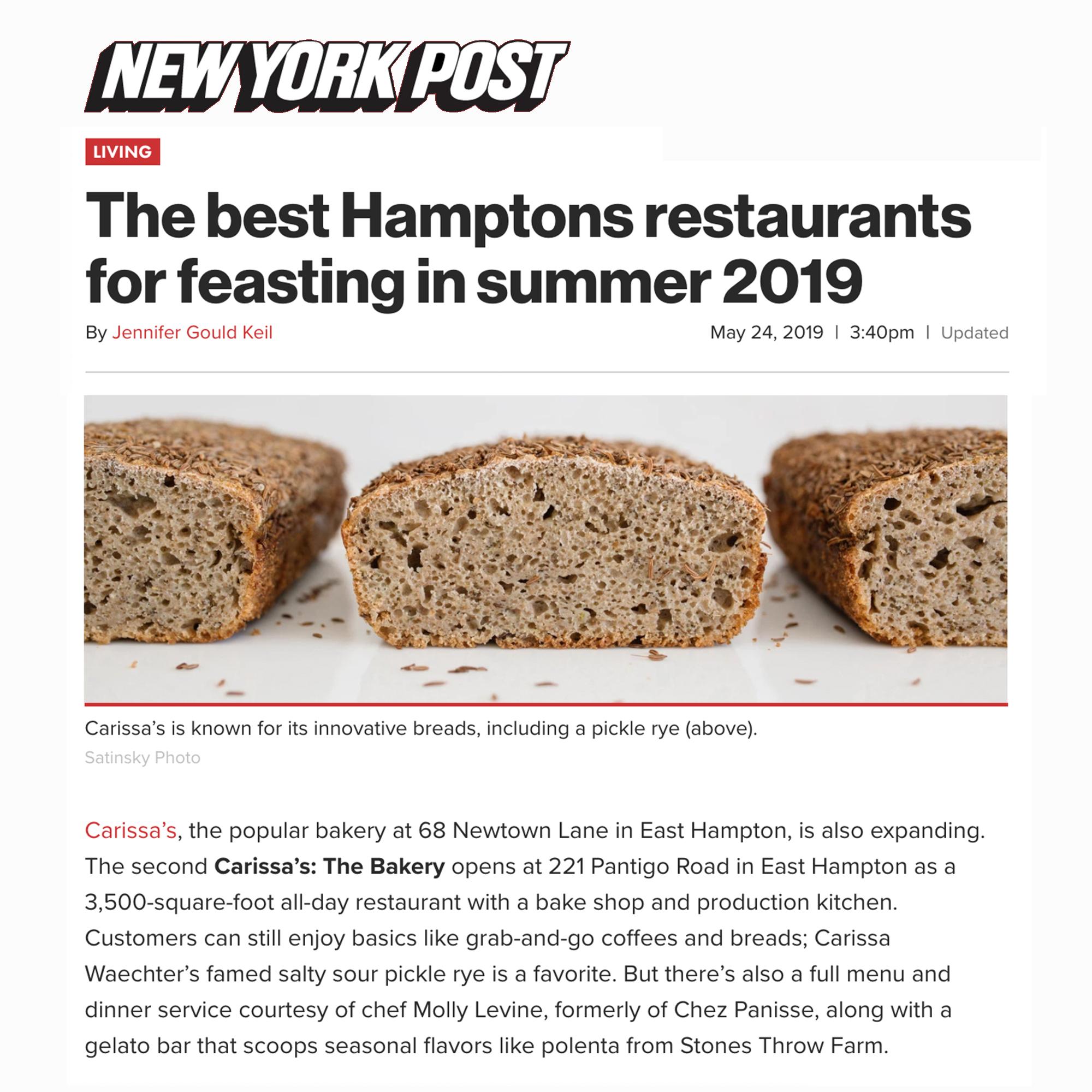 New York Post (May 2019)