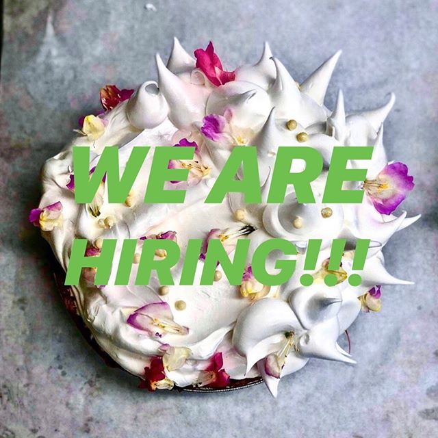 Love Gluten? Carissa's is hiring for full time and part time positions at our new location, 221 Pantigo Road in East Hampton! Please email resumes to resumes@carissasthebakery.com for barista, bakery retail and service staff positions.