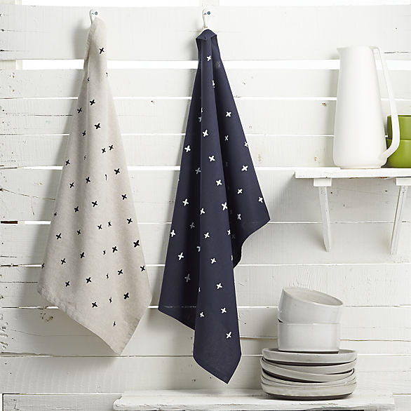 CB2    Custom colors of Erin's bestselling tea towels, created for CB2's artisan collection.   VIEW PROJECT