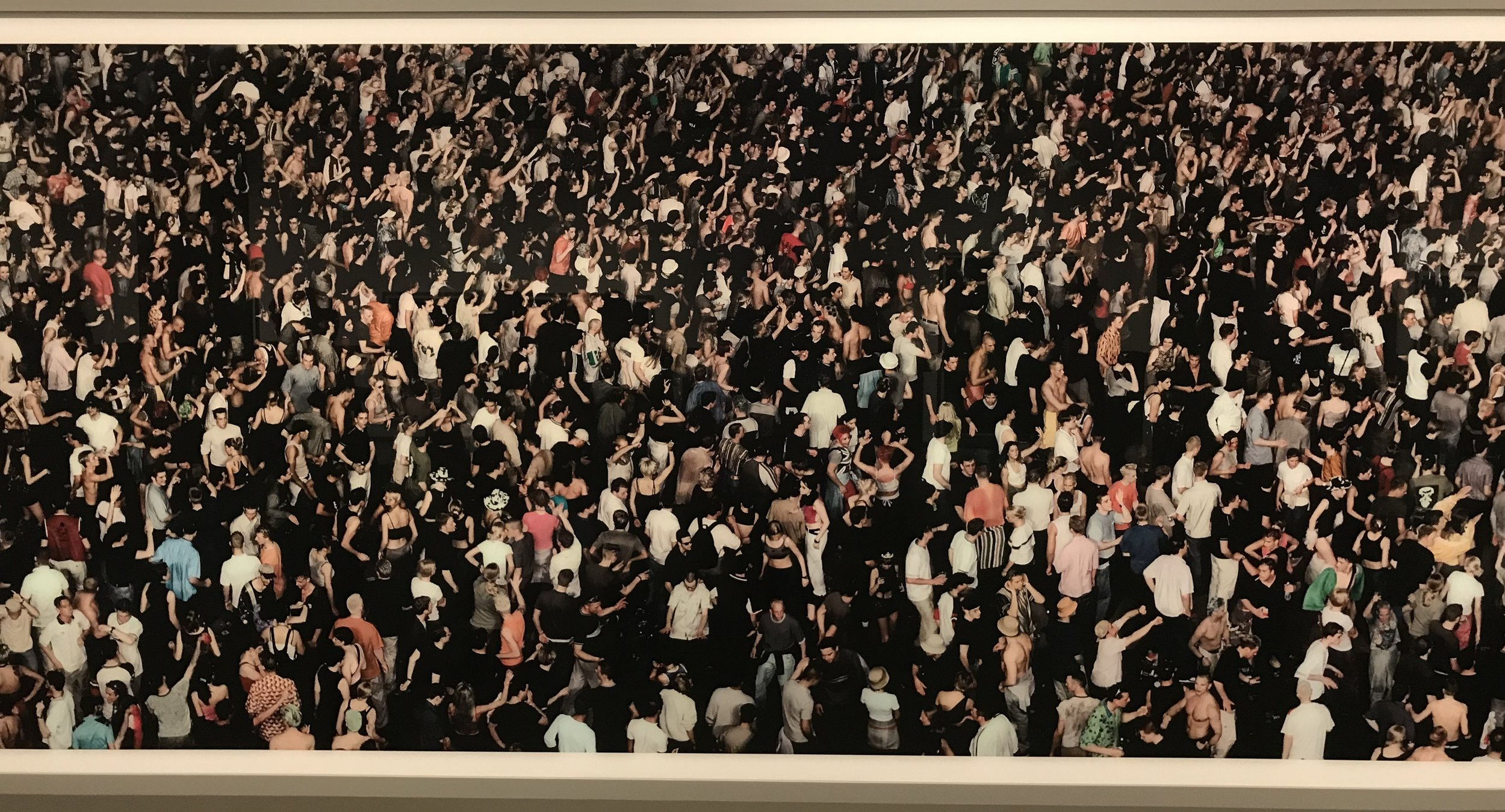Andreas Gursky, 2000 (and 2014)
