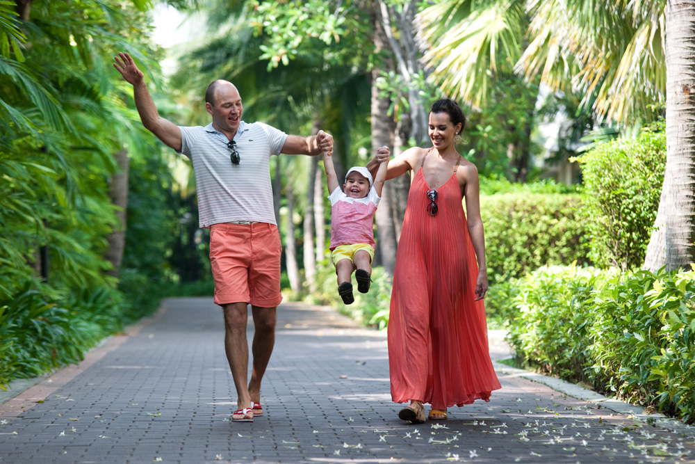 Family Photo Session at Blue Lagoon Resort Hua Hin