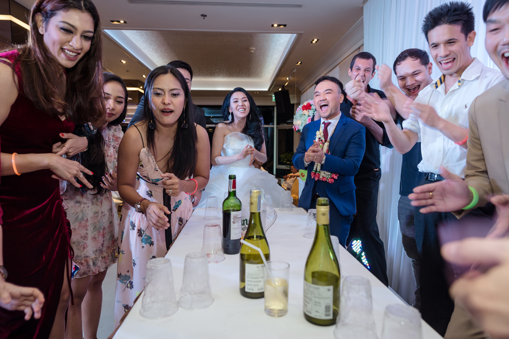 Bom and Off's Wedding