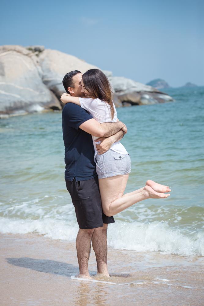 Surprise Proposal & Couple Portrait