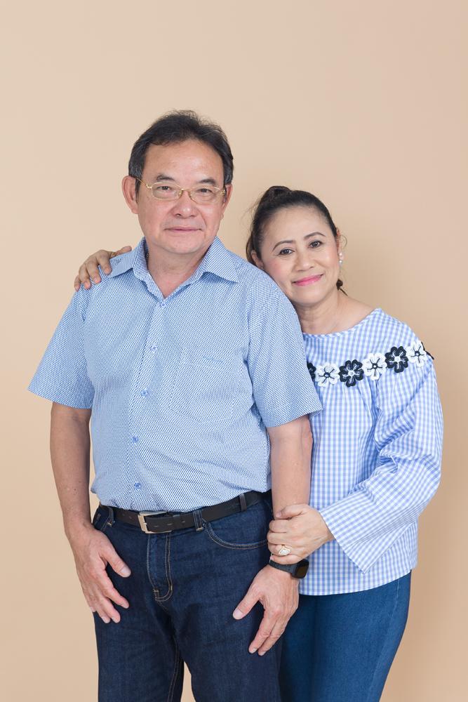 Couple Portrait Photo Session in Studio