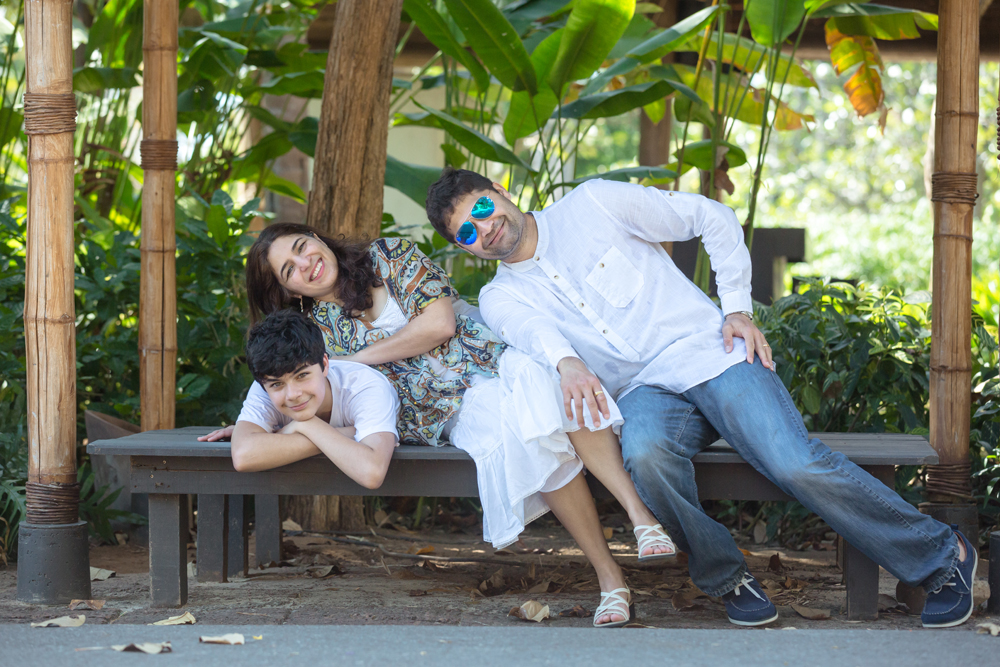 Family Photo Session at Evason Hua Hin & Spa