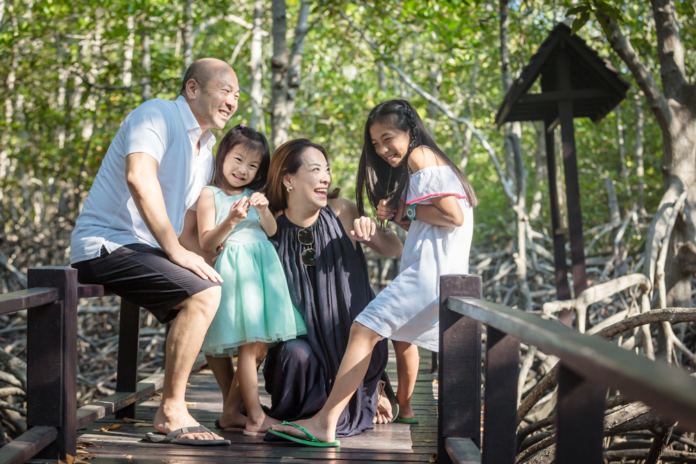 Family Photo Session at Pranburi Forest Park