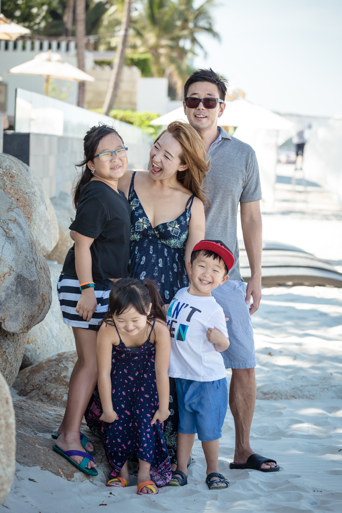 Family Photo Session at InterContinental Hua Hin Resort