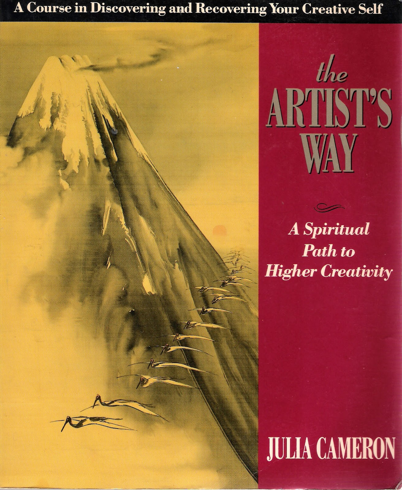 The Artist's Way - Julia Cameron - This book is a catalyst in teaching about well-being and trusting the creative process.