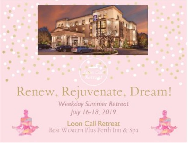 Join us in our partnership with Best Western Plus Perth Parkside Inn & Spa this summer for a midweek #yoga retreat! Take some time to #renew #rejuvenate and #dream! . . . @perthparksideinnandspa #looncallbeckons #perthontario #lanarkcounty #ottawa #kingston #toronto #montreal #wellness #mindfulness #appreciativeinquiry