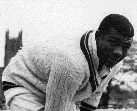 CHARLIE GRIFFITH  - The West Indian international and fast-bowler was Burnley's professional in the mid-60s. In the 1964 season, he took 144 wickets at 5.20.