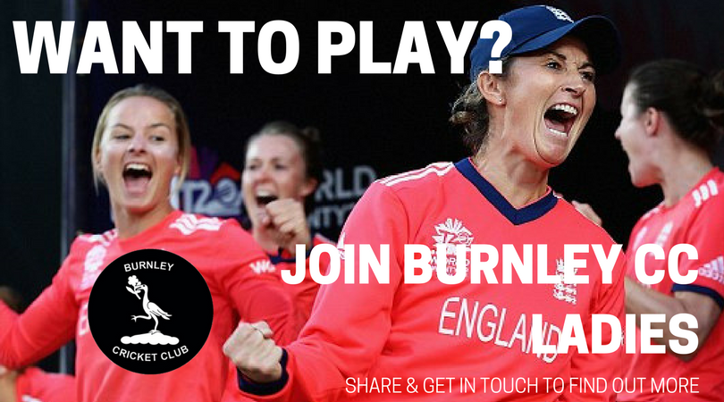 Burnley CC Ladies Call For Players.