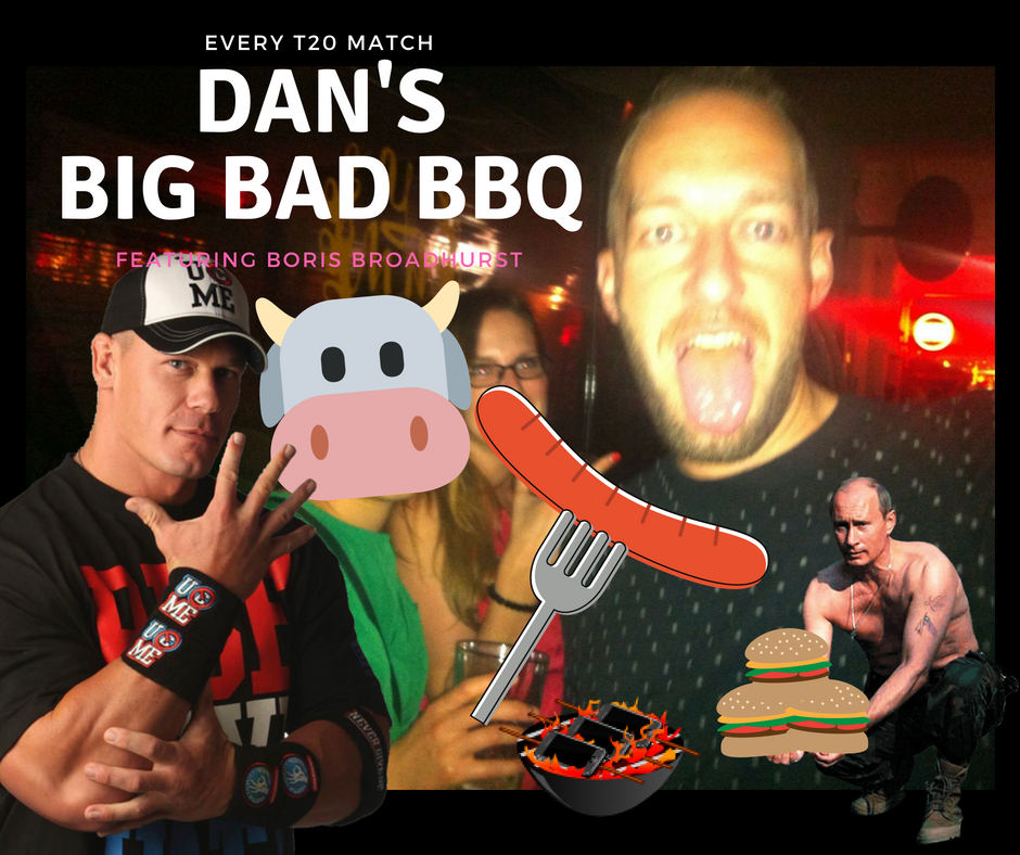 Dan Pickup's T20 BBQ at burnley cricket club