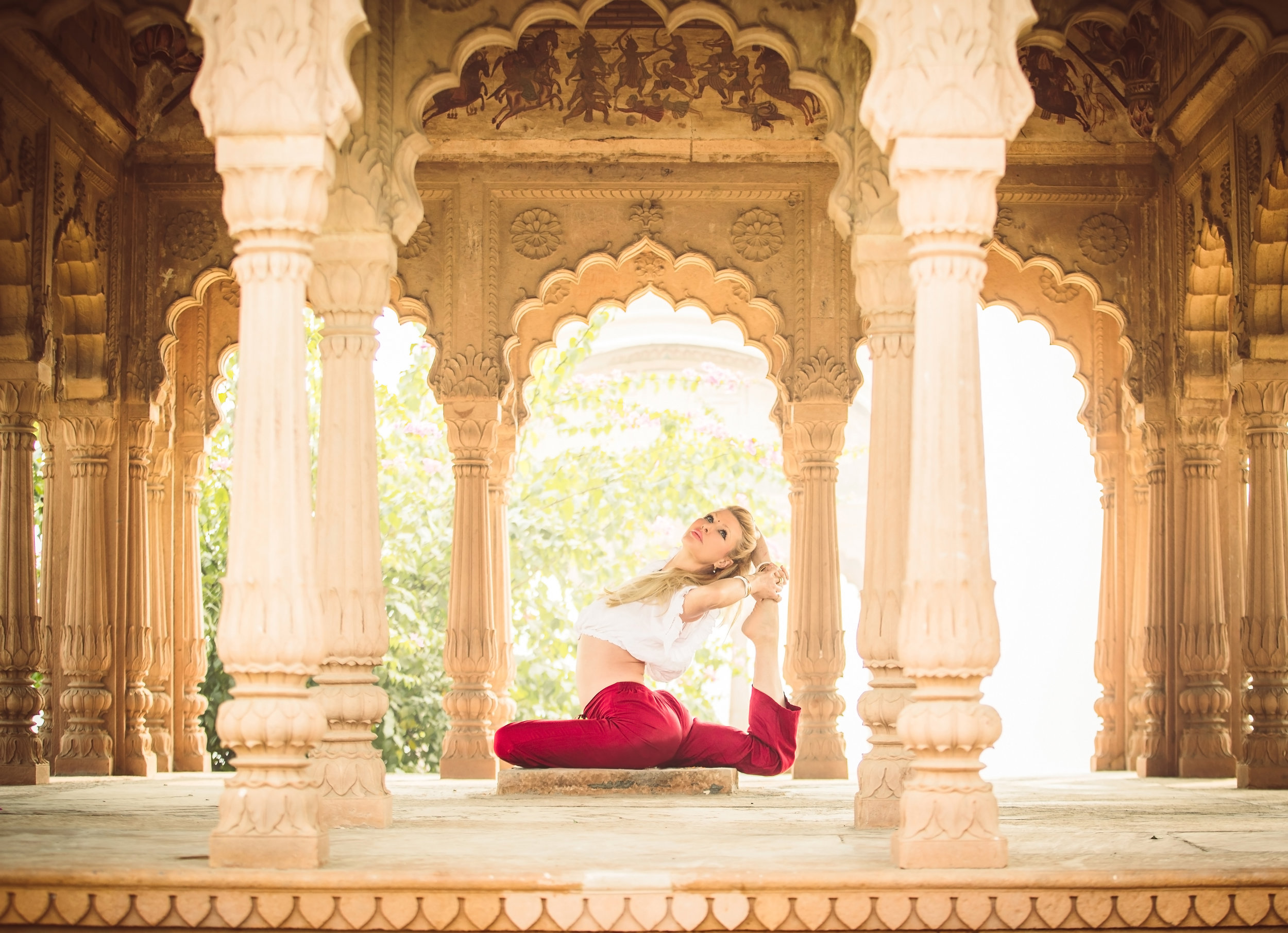 Radhika Yoga Training