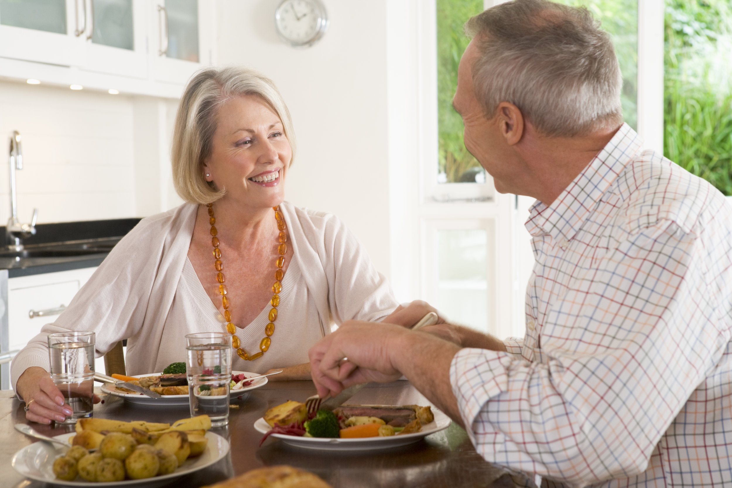 clients receive the benefits of companionship along with their meals