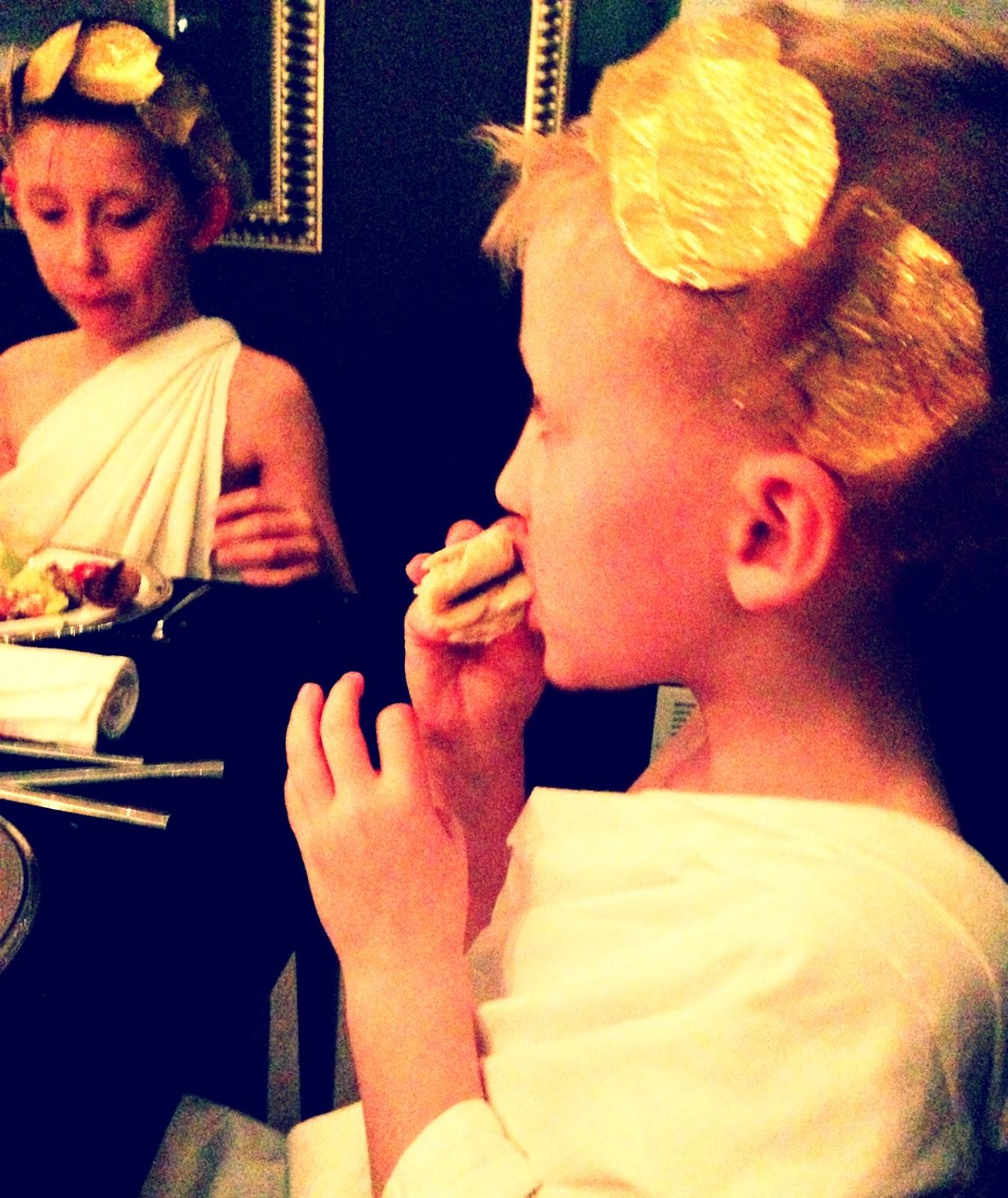 Lincoln Eating.JPG