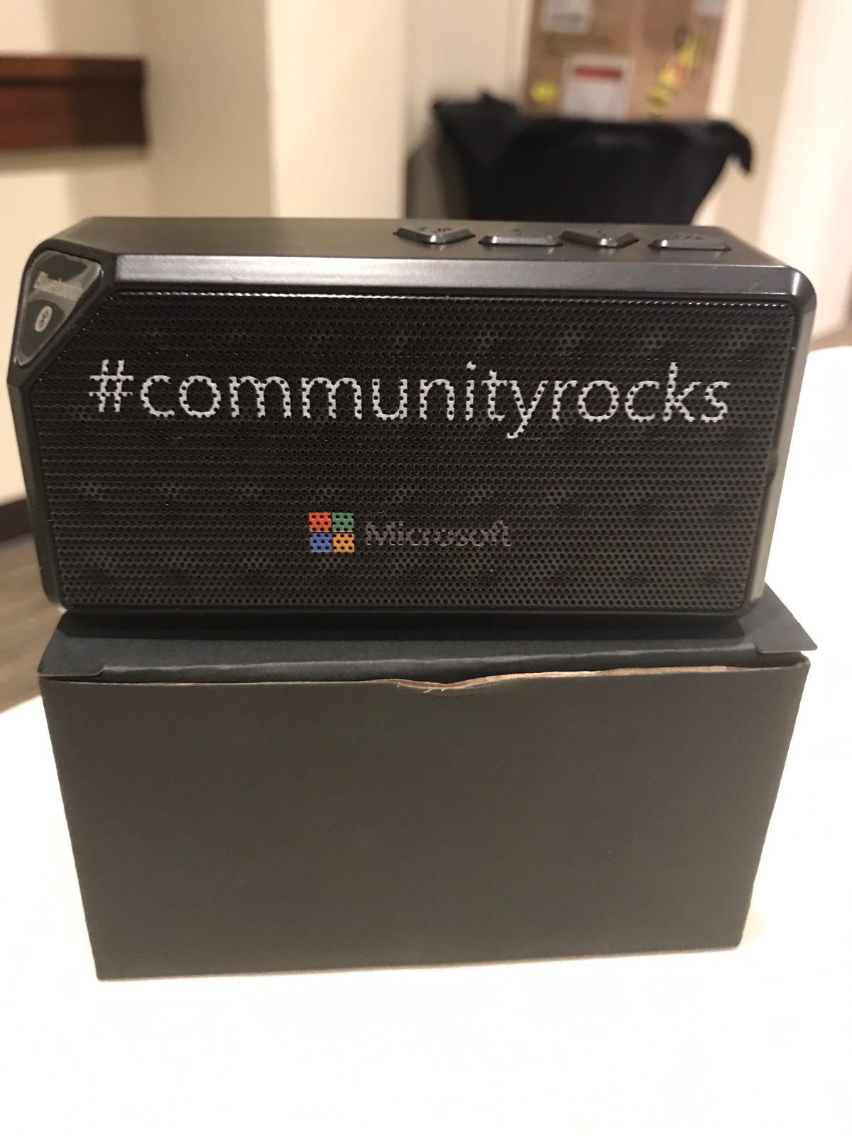 Community Speaker gadget
