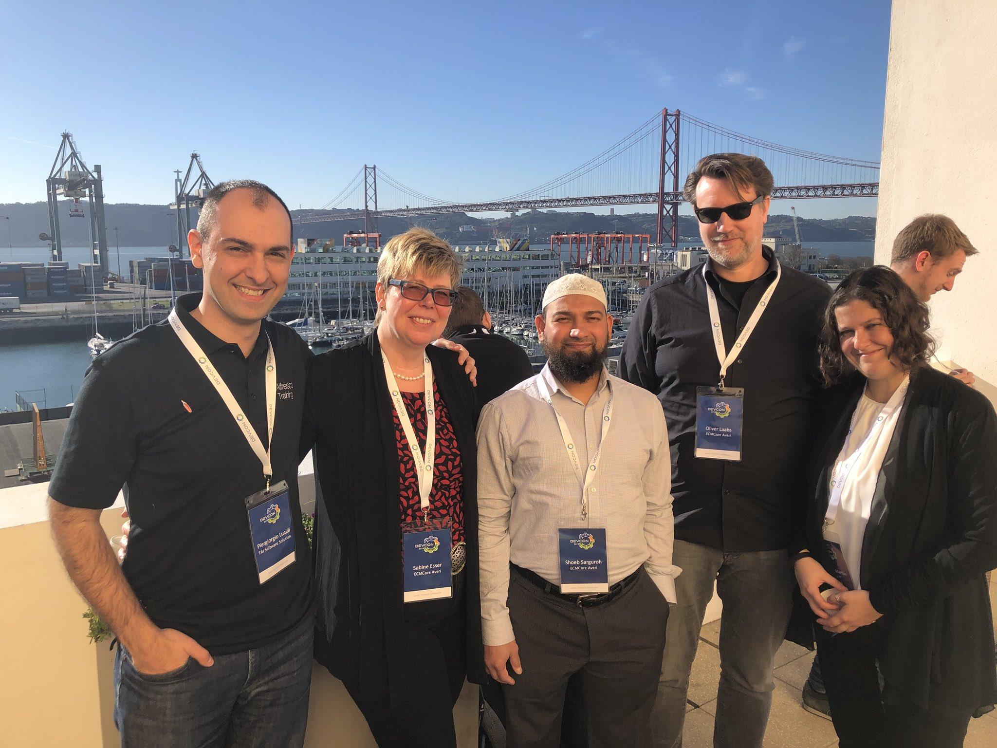 ECMCoreAveri International Instructors Team: me,  Sabine ,   Shoeb  ,   Oliver   and   Cristina  .   Thanks to  Cristina  for this great shot :)