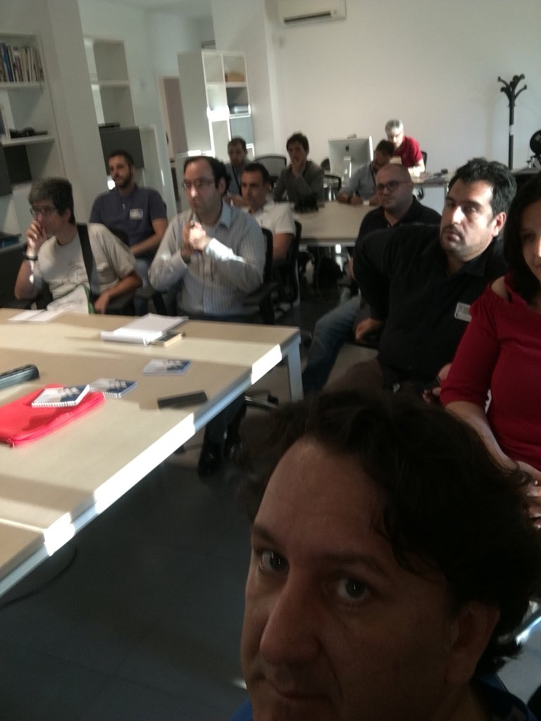 The attendees :)   Photo by Francesco Corti