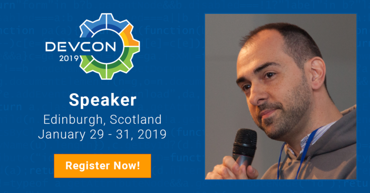 Alfresco DevCon 2019: giving training, speaking and