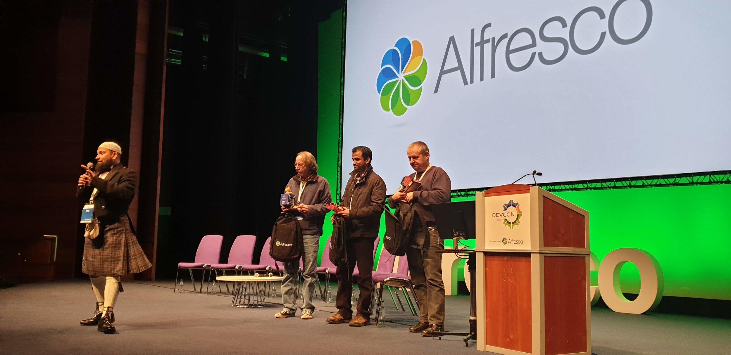 Alfresco Training Awards