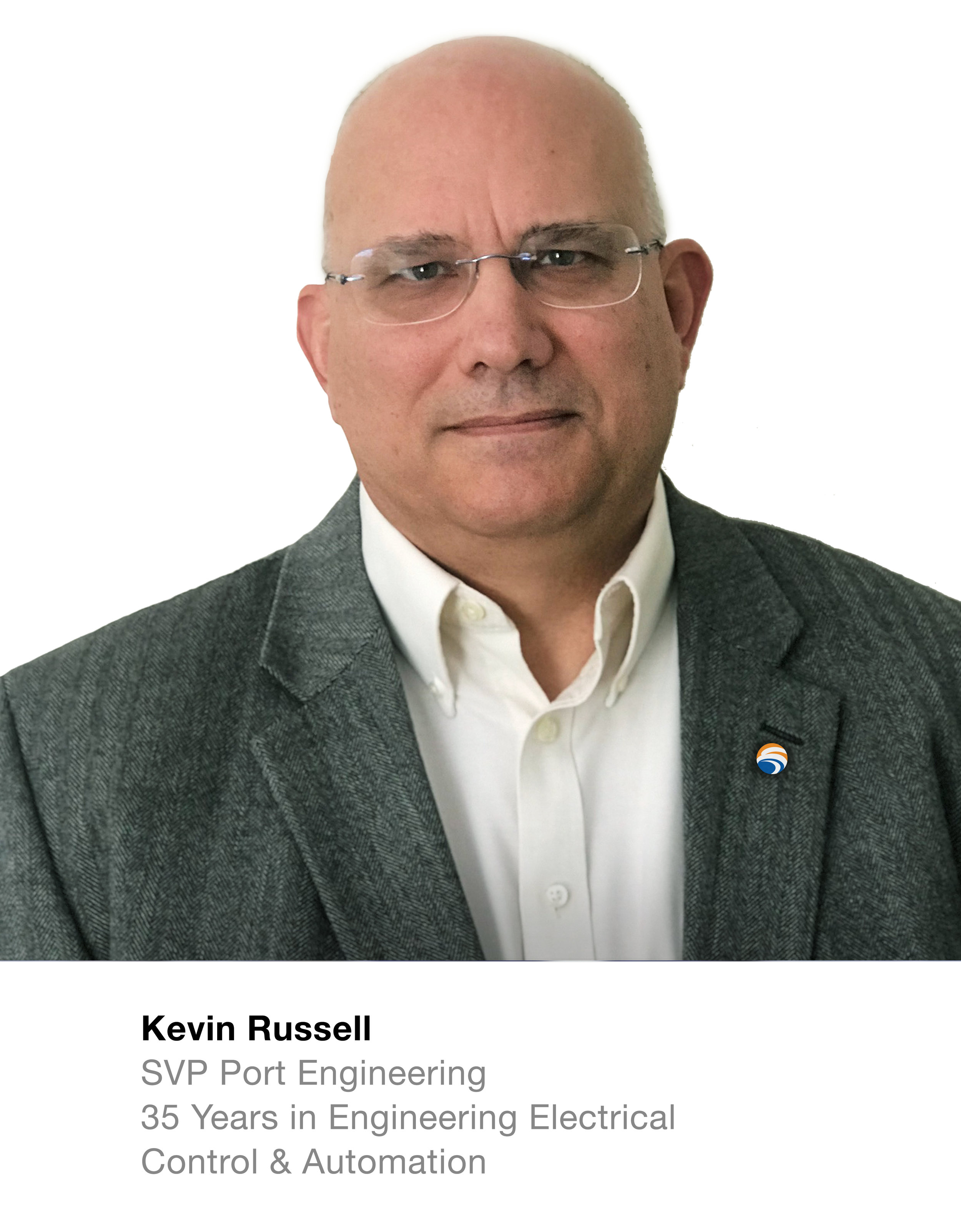Kevin Russell SVP Power & Control  35 Years in Engineering Electrical Control & Automation