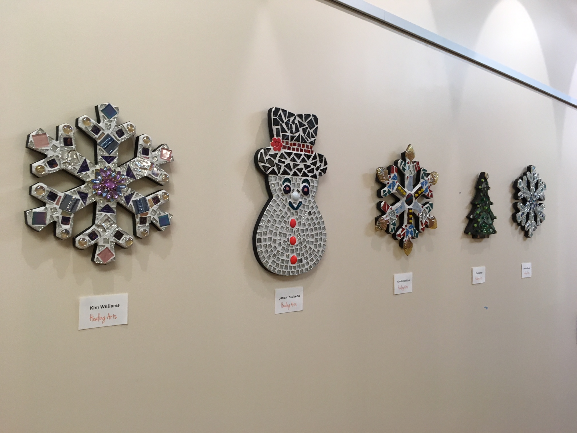 Janets Sacks exhibit at Parker Adventist Hospital