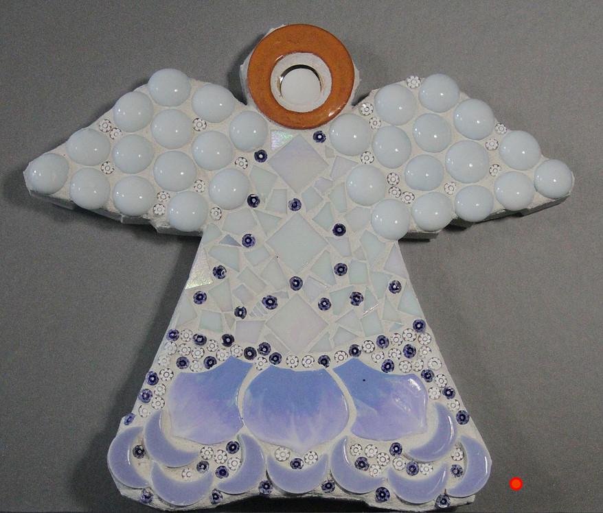 Angel Bright, Mosaic, 8Hx6W, SOLD