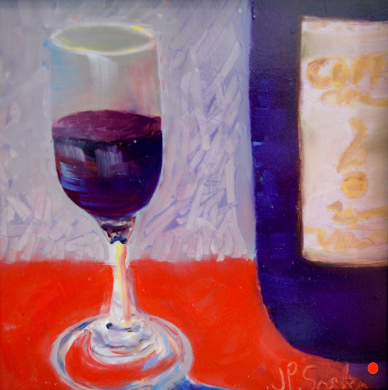 The Fragrance Of Wine, Oil,12Hx12W, SOLD