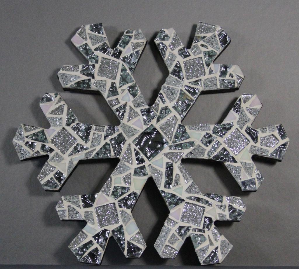 Snowflake, Mosaic, 10Hx10W, $80