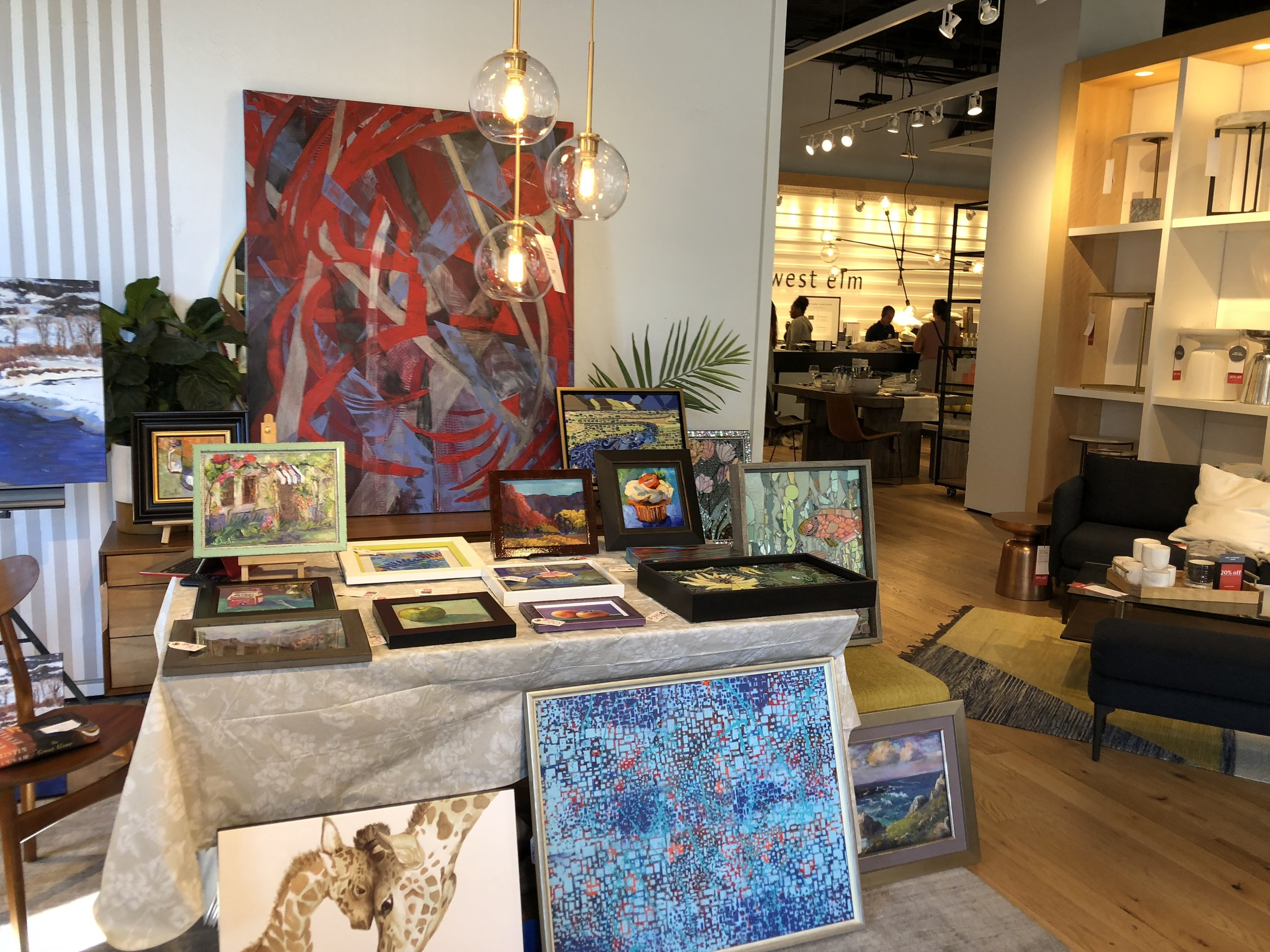 """""""Meet the Maker"""" exhibit and sale at West Elm Cherry Creek North"""