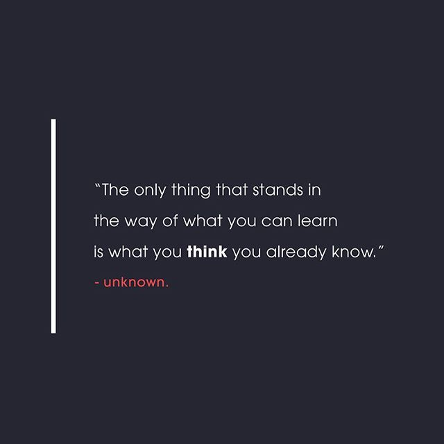 """The only thing that stands in the way of what you can learn is what you think you already know."" Not sure who said it first but it rings true every time I hear it.  As a creative, it can be rather easy to think you have one aspect of creativity handled and mastered. As a person, it can be so easy to believe your way is the best way but it's always about listening, understanding, and perspective. . . . . . . . #quotestoinspire #understandinglife #designprocess #blogmode #creativeblogger #usbornebooks #bookladylife #beachbodycoachlife #lifelessonslearned #lifelessons101 #lifelessonslearned #onlinebusinessowner"