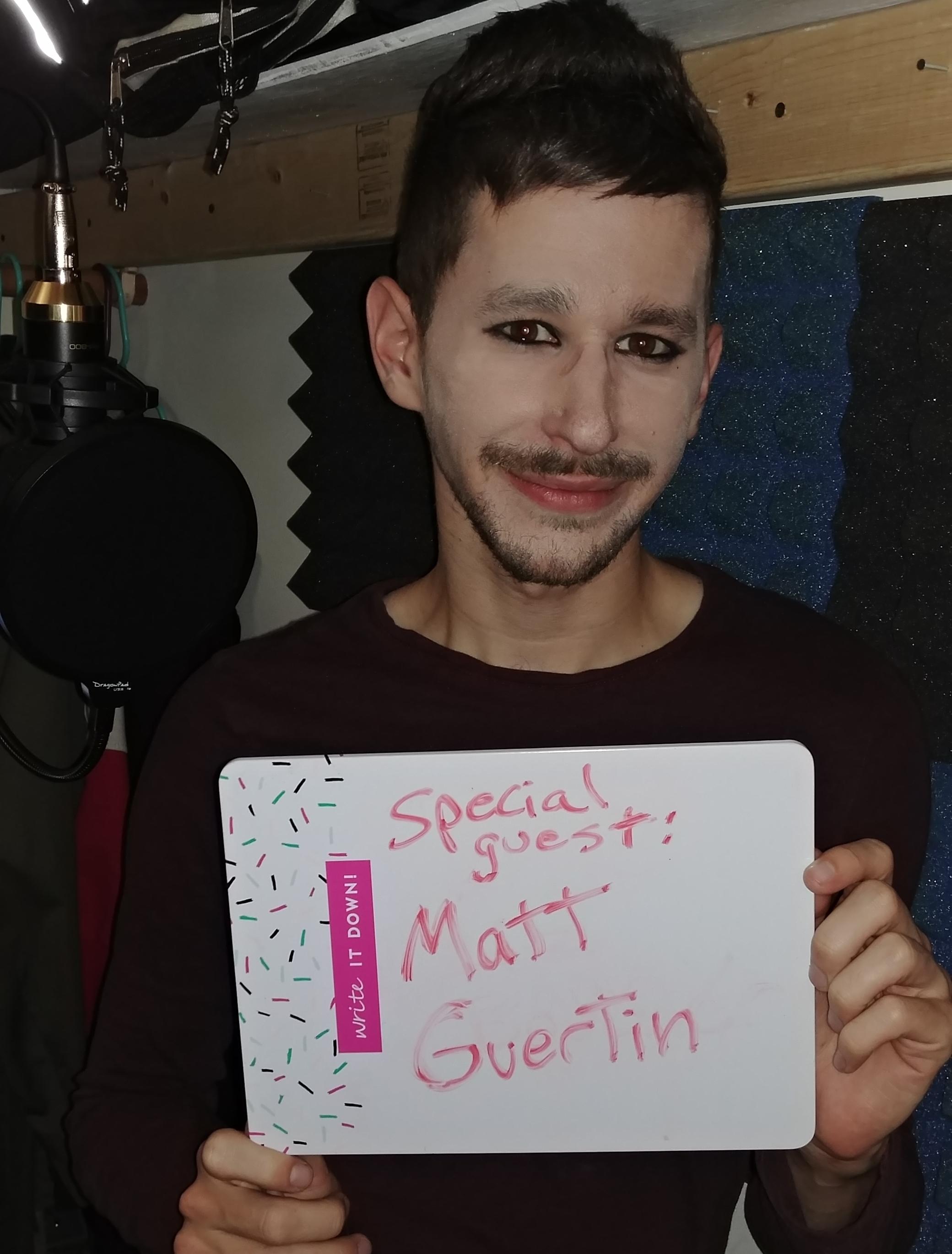 Starring Matthew Guertin as  Adam