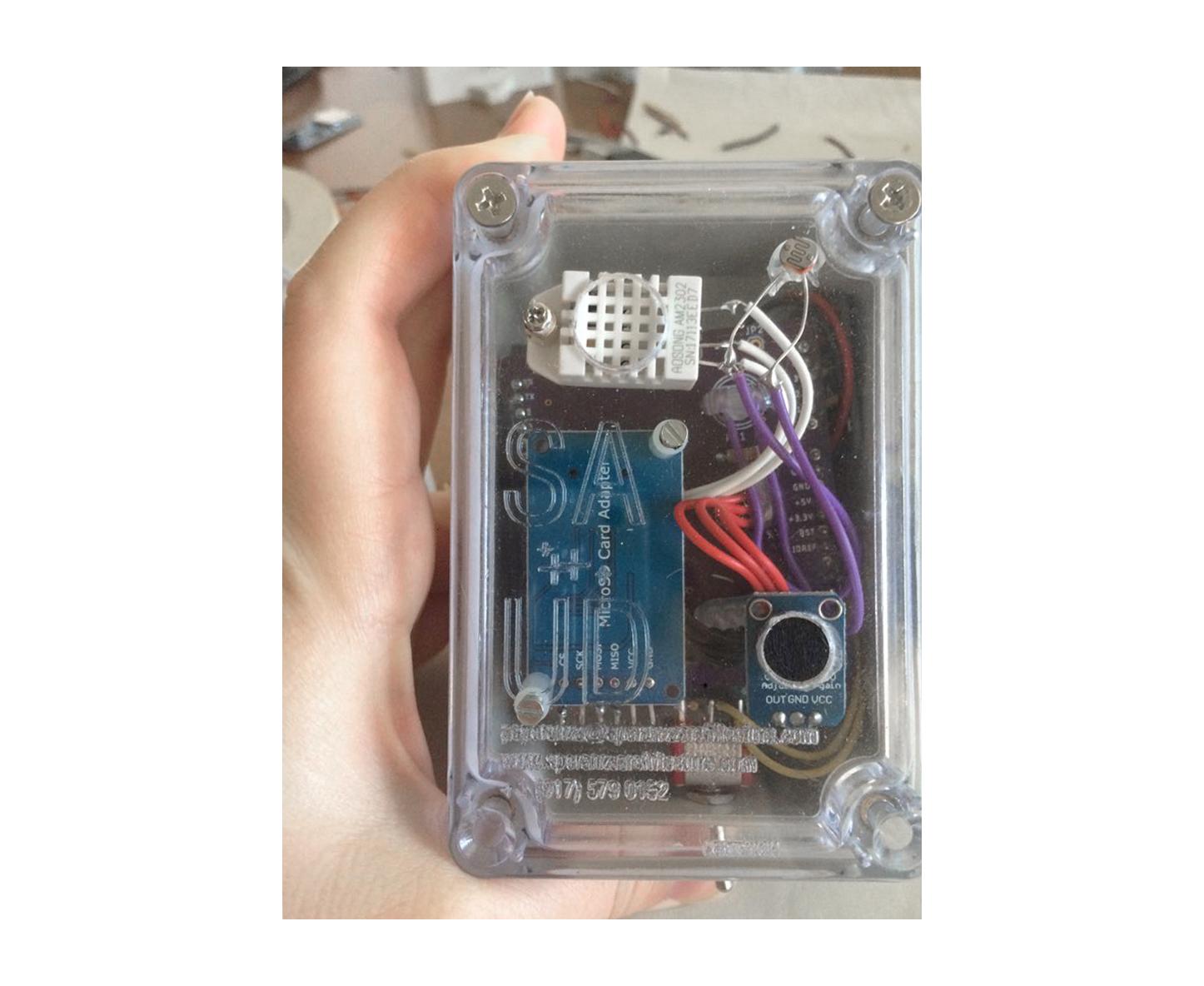 Custom  designed sensor kit
