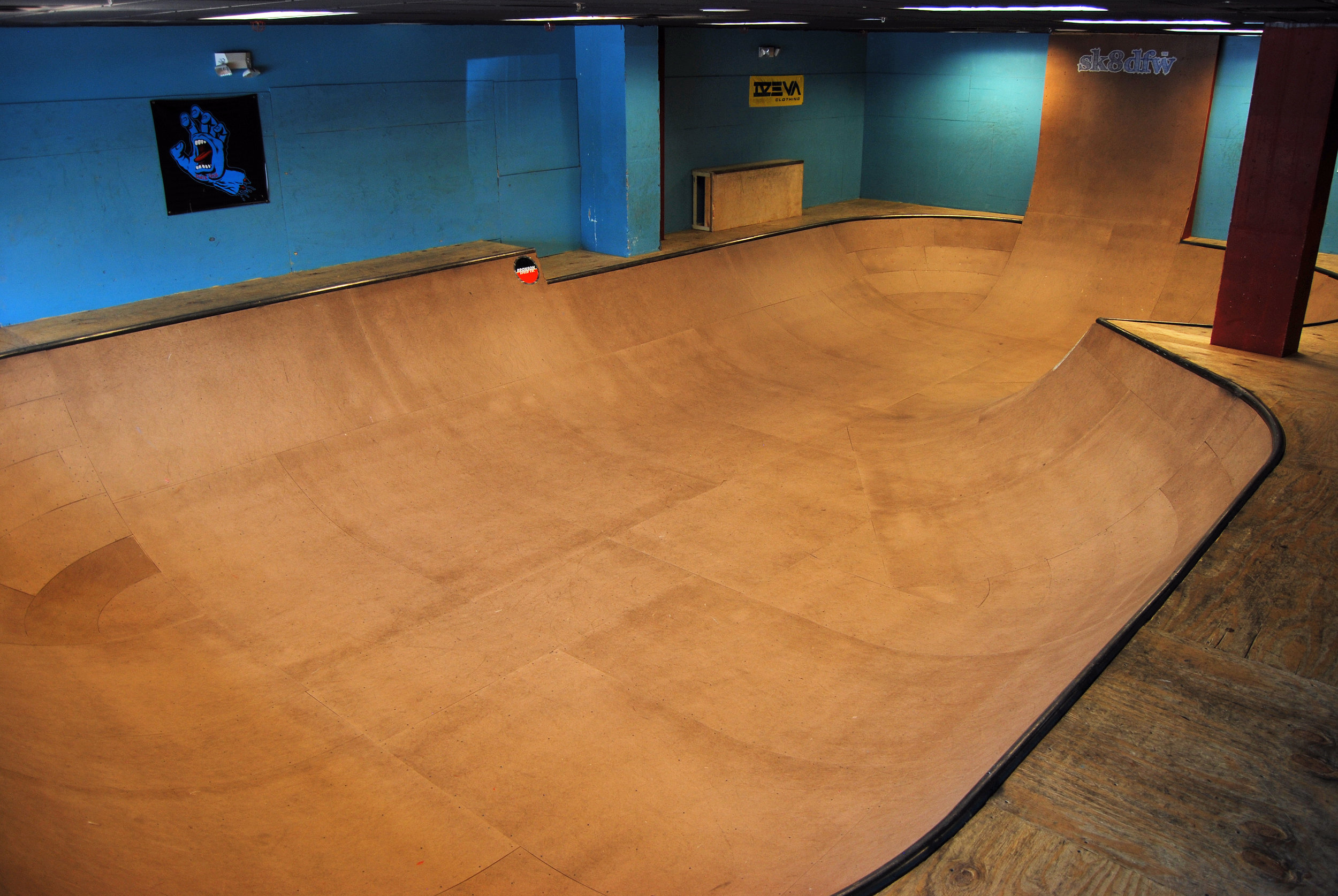 Point Skate Shop's Indoor Bowl