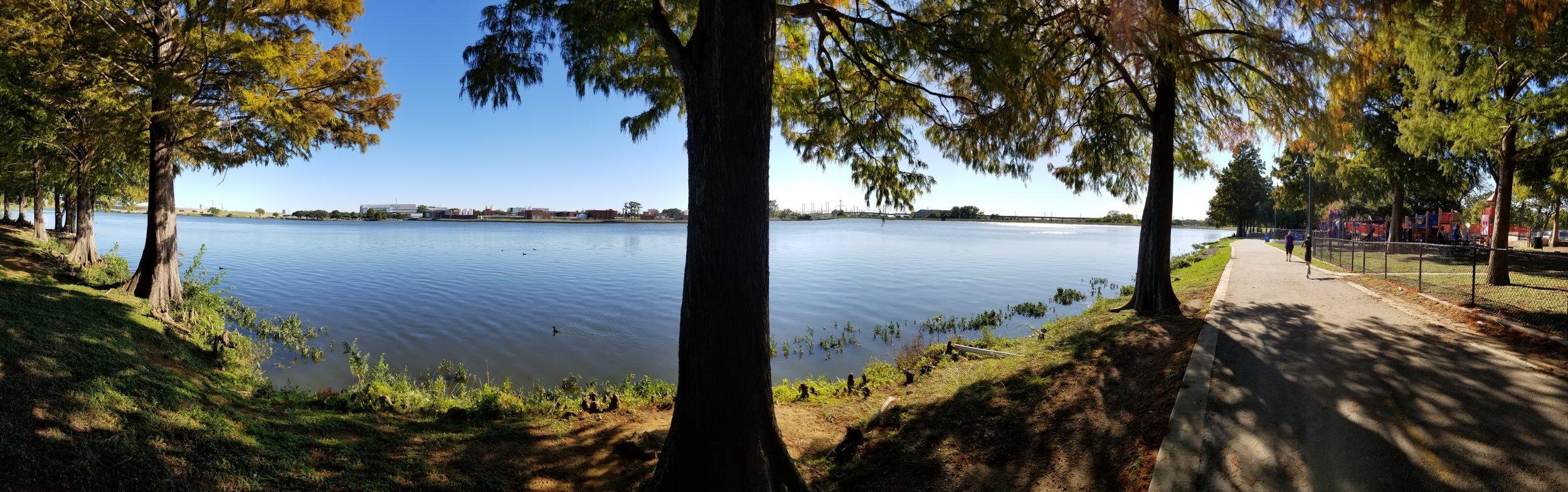 Beautiful Bachman Lake Location for a Skatepark