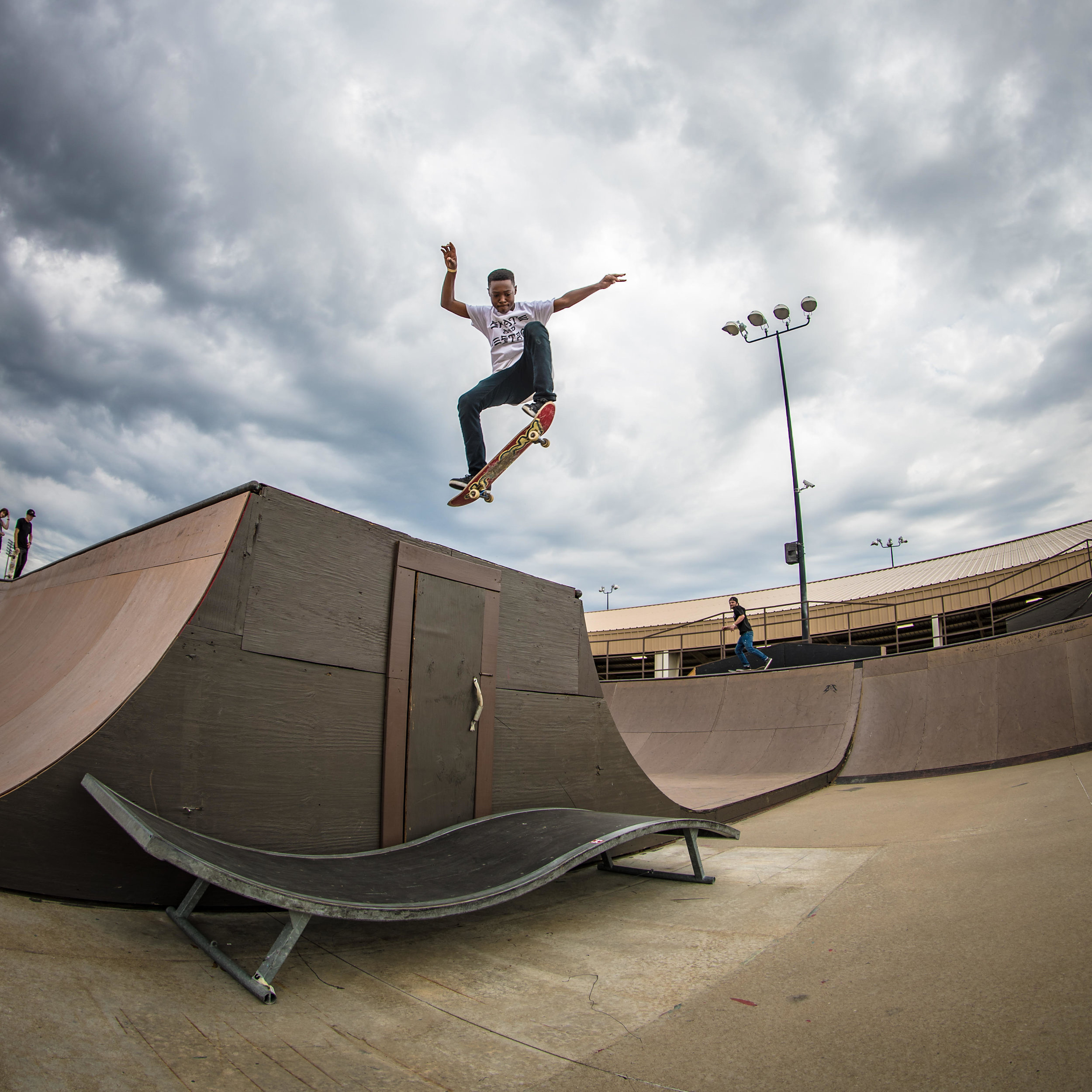 Skater Xavier PInckney, Photo by Chadwick Rollins