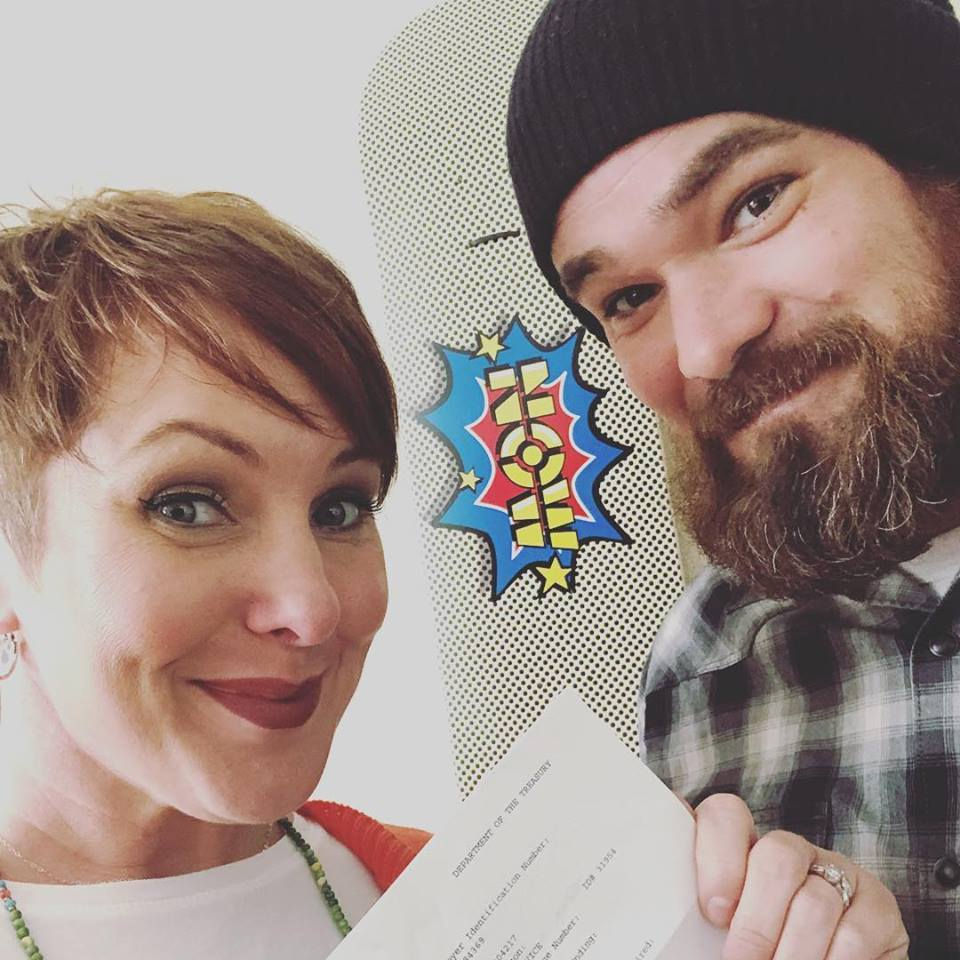 Sarah & Josh Hurley celebrate non-profit certification for Switch Life.org