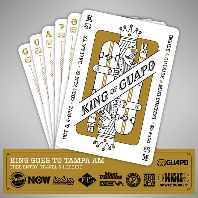 King of Guapo Graphic courtesy  Guapo Skateboards