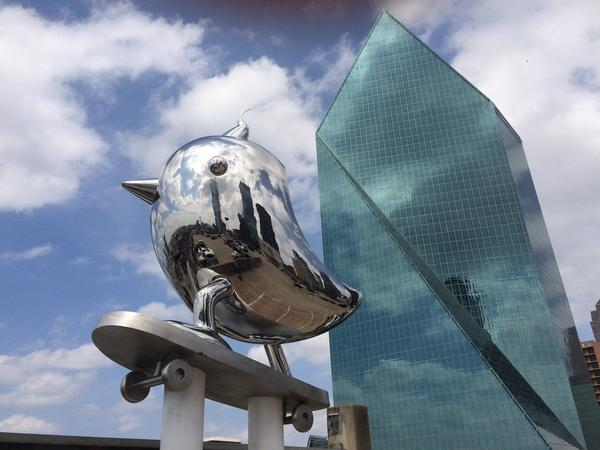 SkaterBIRD by Brad Oldham Sculpture