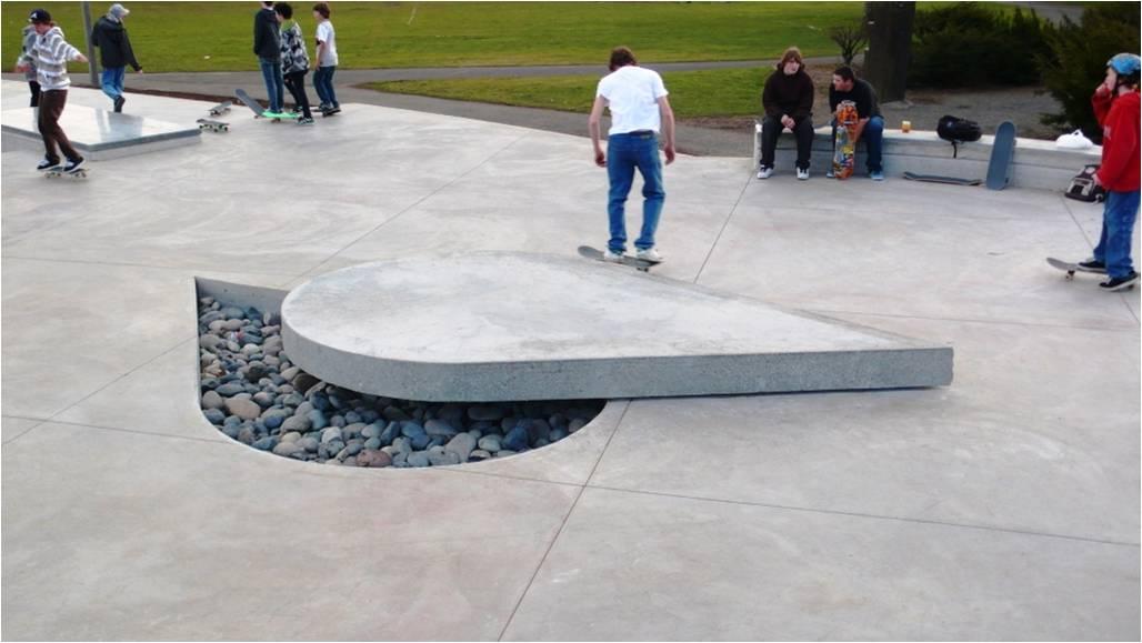 Ed Benedict Green Drainage Sculptural Manual Pad and Gap.jpg